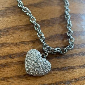 Guess Heart Necklace